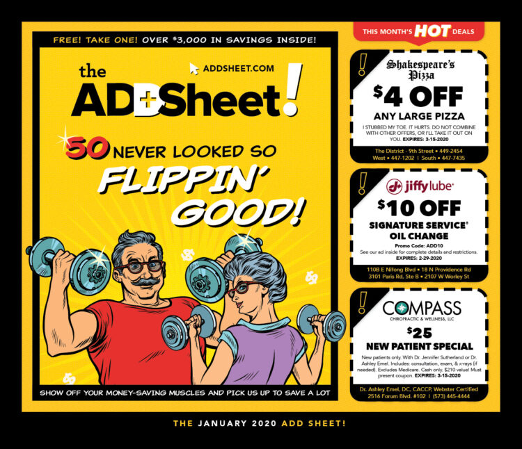 The ALL-NEW ADD SHEET!