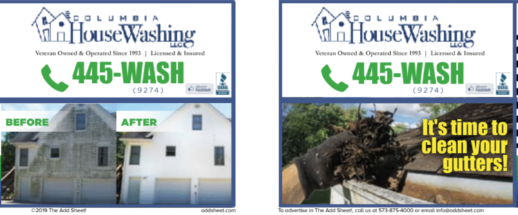 $199 HOUSE WASHING SPECIAL FROM COLUMBIA HOUSE WASHING - The